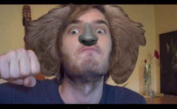Puppy PewDiePie XD by Number1HinataFan2