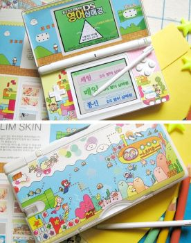 Nintendo DS Skin Adventure by paperplane-products