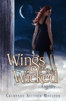 WINGS OF THE WICKED Book Cover by courtneyallison