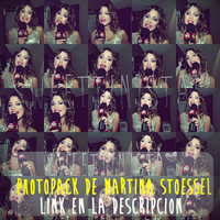Photopack Martina Stoessel by SweetTinista