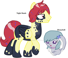 two adopted OCs~ by MedabotAndronica