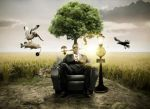 Photo manipulation PSD images by freebiespsd