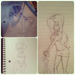 Skullgirls Sketch Dump by jelliPANDA