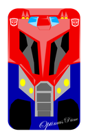TFA Optimus Prime iPhone by autobotchari