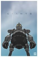 Giants - Iron Giant by DanielMead