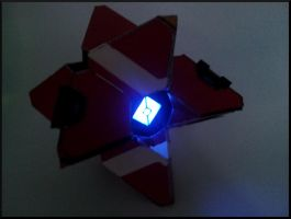 Destiny Prop: Ghost at night by UnknownEmerald