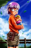 Lucca And young kid by LenLenbell