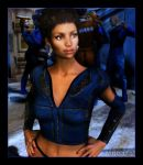 Uhura Goes Undercover by mylochka