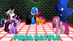 Pony Kombat 3 Final Battle by Macgrubor