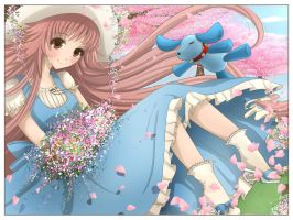 Kobato: -at the park- by Chiichanny