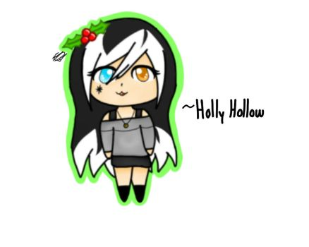 Chibi Holly Hollow  (for HolidayDC) by WolphieDoesArt