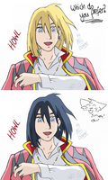 Which Howl hair colour? by ArtistMaz