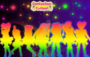 Confection Cuties Rainbow Poster by Magical-Mama