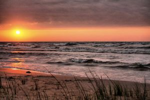 Manistique Sunrise 'Updated' by Originalbossman
