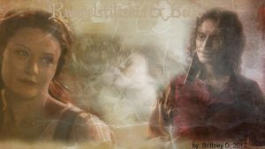 Rumpelstiltskin and Belle by Crazy-KISS-Fan