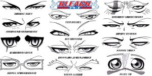 Eye Set - Bleach Part 3: Hueco Mundo by Sapphire56