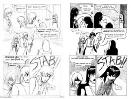 Gothic Comic pg 2 by ThatDarnKat