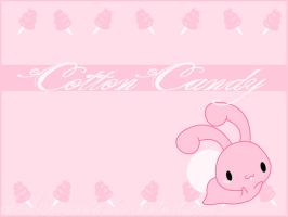 .:Cotton Candy Wallpaper:. by PhantomCarnival