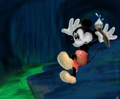 Epic Mickey by gillian-r