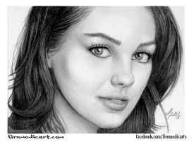 Mila Kunis by DFitchPencilArt