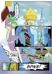 the Unexpected love life of Dusk shine page 1 by metal-E