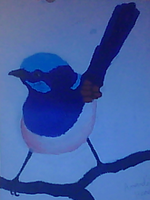painting - bird by mantoux3