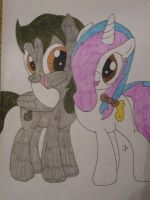 Contest Entry: Jake and Topaz Best Friends!!! by TopazBeats