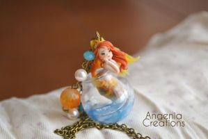 My little goldfish Francis by AngeniaC