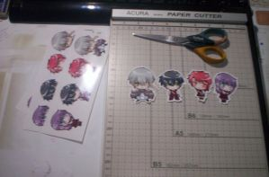 AFF Stickers in process 8D by ryuuen