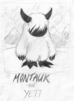 Montauk the Yeti by Infinitesimal-Speck