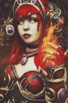 Yozhik - Alexstrasza Cosplay - World of Warcraft by YozhikandNamie