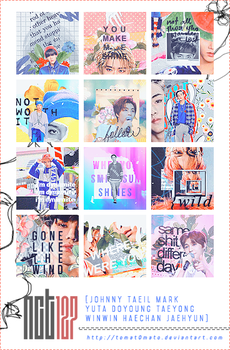 NCT 127 Icon pack by tomat0mato