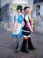 Nijikon 2010 - Ciel and Bou by SakuraCherry7