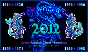 Year of the Water Dragon Banner by tropical395
