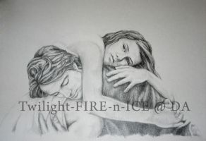 Never let me go by Twilight-FIRE-n-ICE