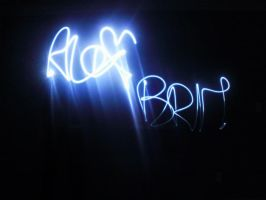 playing with lights by xox-Brittany-xox