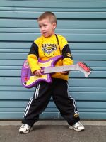 Rockin out- Eli by JensStockCollection