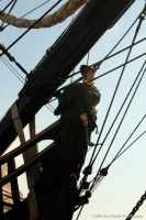 Pirate Ship - detail by JimOKeefePhotography