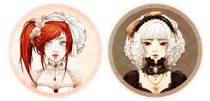 :PocketMirrors: Lolita Girls by Doria-Plume