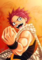 Natsu - All Fired Up by TobeyD