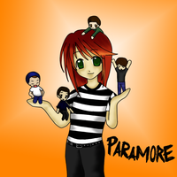 Paramore Chibis by Xcas92X
