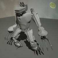 WolfBot WIP by MimmoO