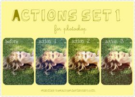 Actions set 1 by stardixa-resources