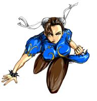 Fan Art : Chun Li by johncsantos