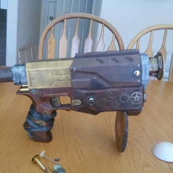 Nerf Gun Turned Steampunk by west158