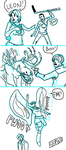 Is this RE4 comic even funny? by Betalogan