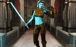 Aayla Secura by Dendory