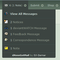 dAmnGotMail - Automatic Inbox Checker by DJ-Zemar