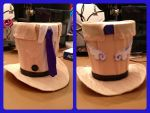 Castiel patron saint of hunters SPN mini top hat by magpie89