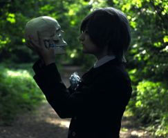 Kiss for the Scull by whisperofrose